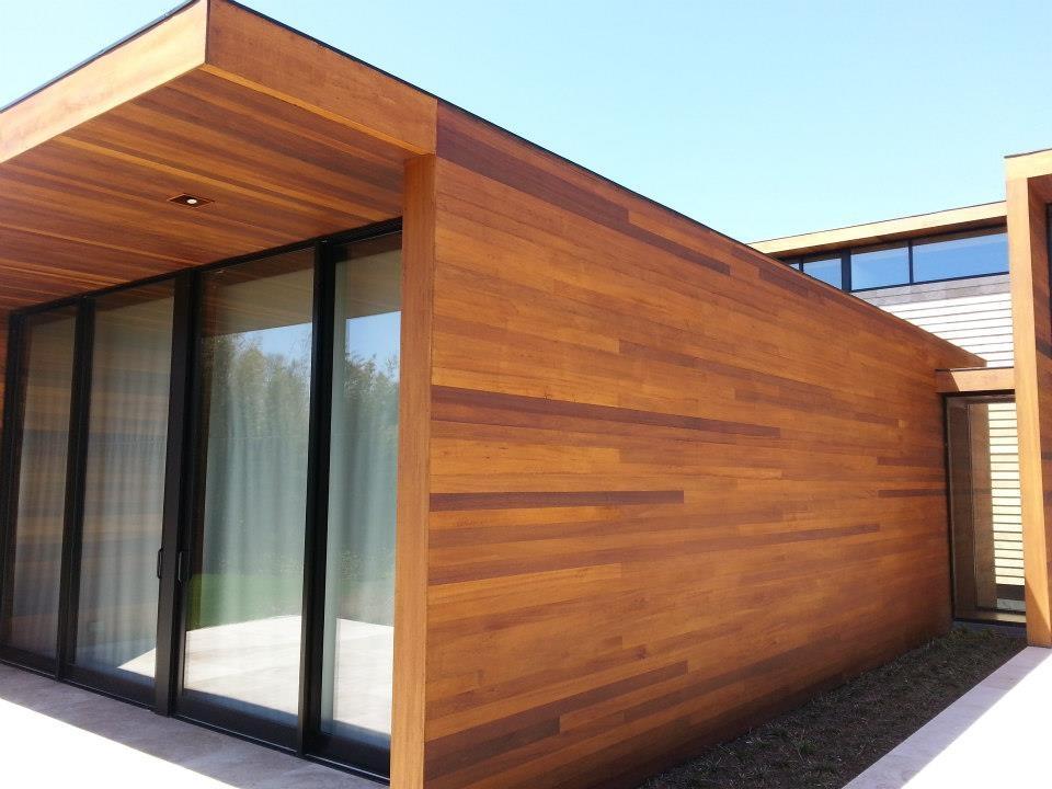 Rev tement ext rieur r novation toiture qu bec - Exterior polyurethane wood finish ...